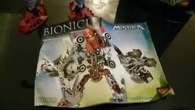 Lego Bionicle, large collection of figures