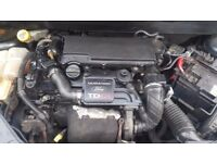 2004 FORD FUSION 3 1.4 TDCI DIESEL BARE ENGINE GOOD CONDITION