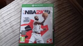 NBA 2K18 XBOX ONE - PERFECT CONDITION