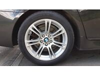"""BMW M SPORT ALLOYS 18"""" (with tyres) - SMALL MARKS"""