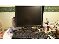 Dell Monitor and keyboard ,comes with connection.. Grab a bargain