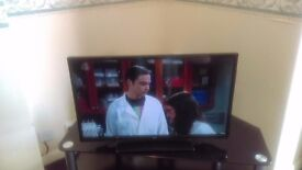 "32"" bush tv with built in free view and dvd"