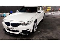 BMW 4 Series 2.0 420d Automatic M Sport Package 2dr Red Leather Pro Nav Harman Kardon Sound