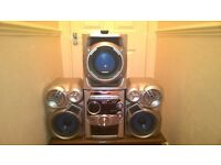 Panasonic stereo system.