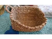 Toy or log basket