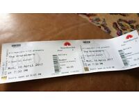 The Pretenders, Royal Albert Hall, London, Monday 10th April, Gallery Standing