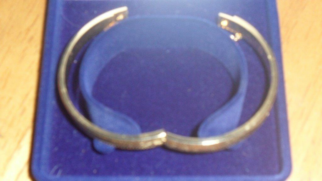 Gold plated baby bangle