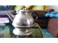 German Silver nickel solid teapot
