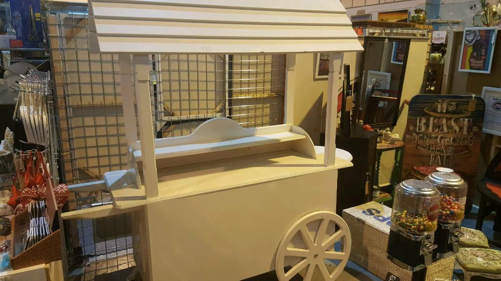 Sweet/display cart project