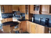Large Real Beach Kitchen complete with Bosch built in appliances. For sale as one lot or in parts