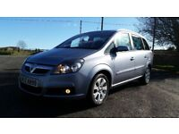*!*7 SEATER*!* 2008 Vauxhall Zafira 1.6 Breeze Plus **FULL YEARS MOT** **ONE LADY OWNER FROM 2011**