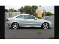2007 Mercedes clk 220 Cdi sport Amg coupe cream leather mot automatic
