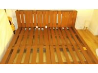 Modern bed frame with pallets!!!