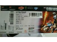 Speedway Grand Prix Cardiff ticket