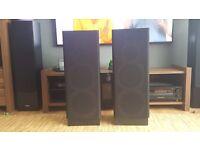 Good looking, large, powerful speakers.