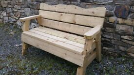 garden benches / furniture / picnic