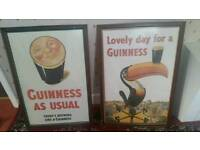2 X Guinness posters