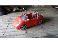 Ferrari Feber 6v electric ride on toy car