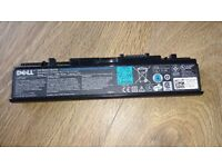 Dell laptop batteries x2 -used -for Dell Studio laptops 1535 1536 1537 1555 1557 1558