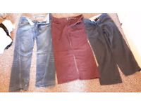 3 Pair Mens Trousers Red Herring & Atlantic Bay