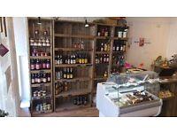 Artisan Rustic Wooden Shelves Crates Linkshelving
