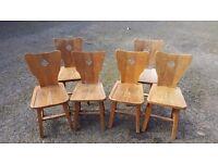 Art Deco Chairs (6)
