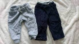 Baby 6-9 month trousers