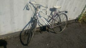 RACER RALEIGH PANACHE RETRO RACING BIKE 5 SPEED 700 CC WHEELS AVAILABLE FOR SALE