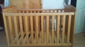 Pine cot used but good condition,