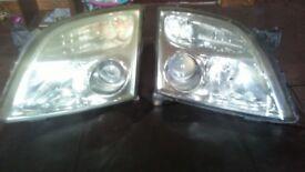 Vectra C prefacelift headlights