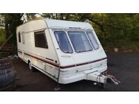 1998 SWIFT CHALLENGER 5 BIRTH CARAVAN