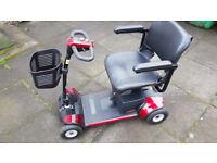 Pride GoGo Elite Traveller Plus Mobility Scooter. Excellent condition.