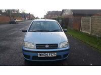 2004 Fiat Punto 5 doors small engine low insurance