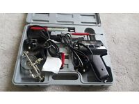 brand new 2 soldering machine with enlarger and different soldering accessories