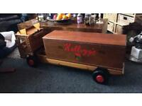 Wooden toy box / seat