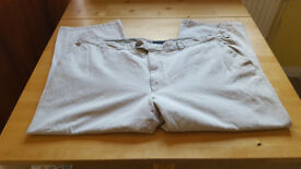 Cream chinos . Size 42. Excellent condition. £2