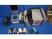 Nintendo gamecube and screen