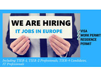 JOBS IN EUROPE, INCLUDING TIER-1, TIER-2, TIER-4 CANDIDATES CALL 07442956338