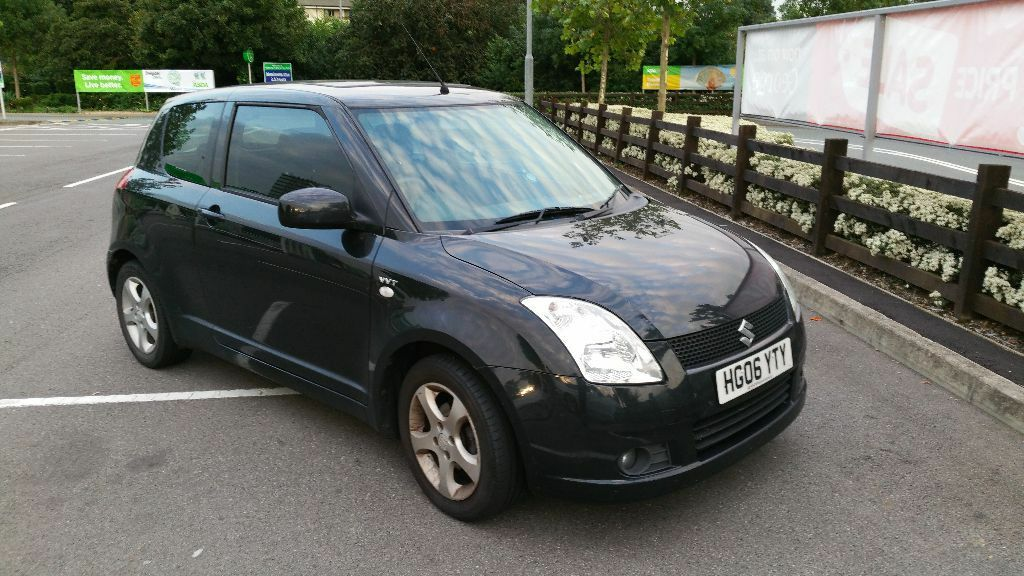 suzuki swift hatchback vvt glx hatchback 1 5 3d black in stevenage hertfordshire gumtree. Black Bedroom Furniture Sets. Home Design Ideas