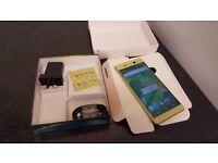 """BOXED Sony Xperia XA ULTRA 6.0"""" SCREEN,UK SIM-Free Smartphone - LIME GOLD,3 GB Ram, 16GB HDD"""