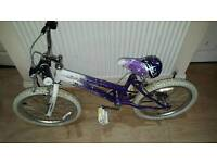 Clearance great 18inch girls bike in excelllent condition all fully working