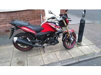 Lexmoto 125 very good runner( looking for a moped 125 swap only