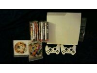 Sony PS3 Playstation 3 Slim white 320gb