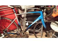 giant defy 3 blue size 56 large.in good codition.