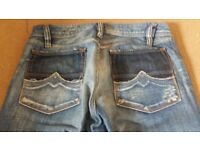 Diesel Zaf 796 Jeans 00796 Bootcut Comfort Fit Size W30 L32