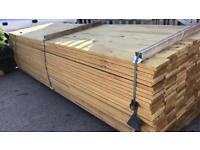6x1 12ft treated decking £6 each