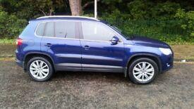 Volkswagen Tiguan, 4 wheel drive jeep, sport line model, TDi, top of the range, £5250, 07538782284