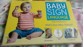 Baby sign language book and dvd