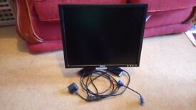 Dell 19 inch LCD computer monitor