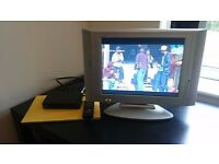 LCD TV with freeview.